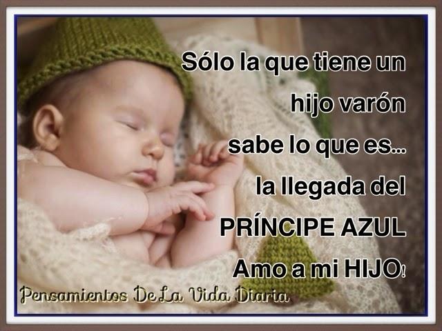Frases para un bebé varon - Imagui