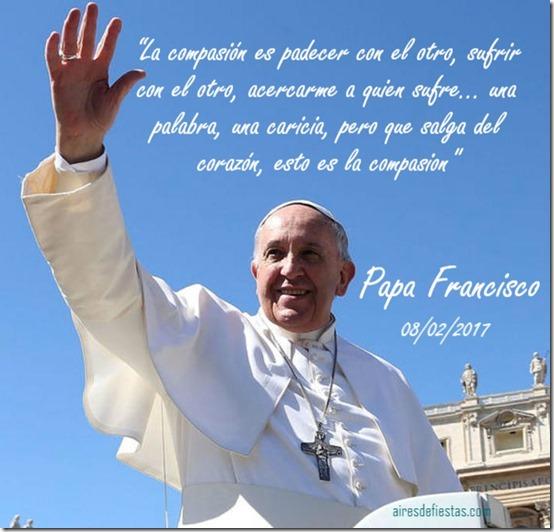 papa francisco compaión
