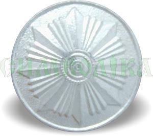 Гудзик поліція великий  22 мм алюміній