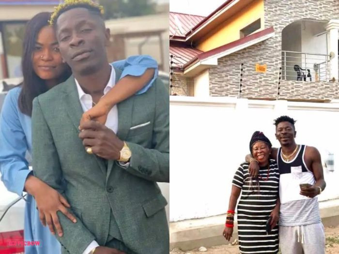 You are frustrated - Shatta Wale's girlfriend replies his mother for alleging he stopped giving her money because she said she is a witch