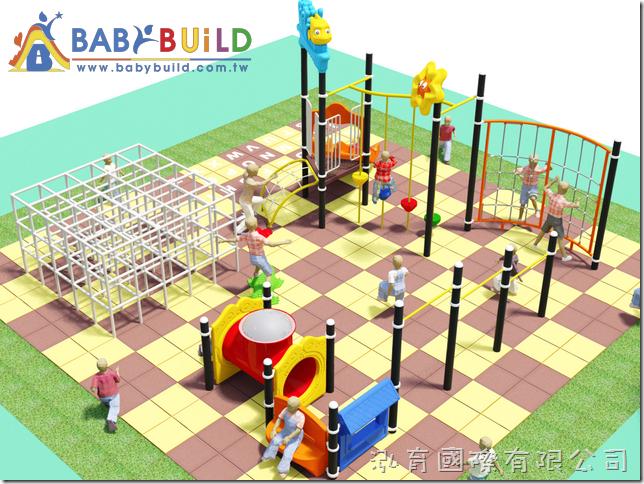 BabyBuild 兒童體適能遊樂設施