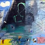 Raoul Dufy, Le Cargo noir, 1952, huile sur toile
