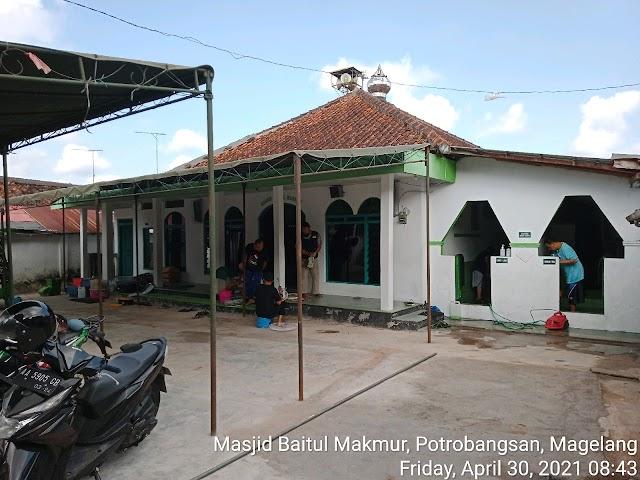 Bersíh Masjid Baitul Makmur, Potrobangsan, Magelang