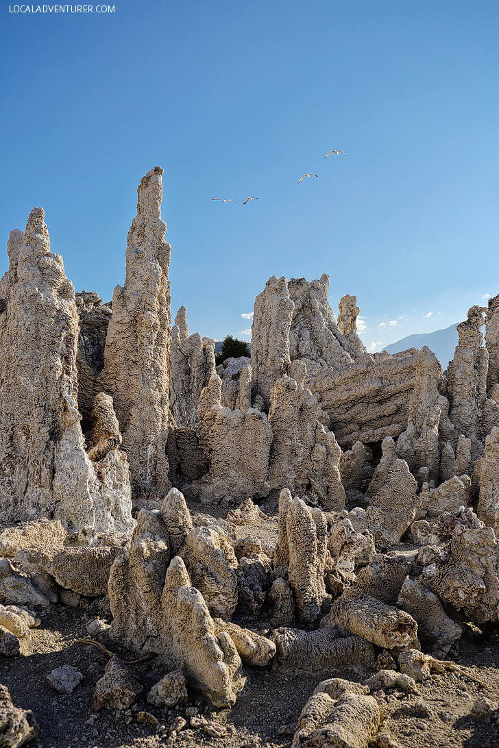 Tufa Towers Mono Lake California.