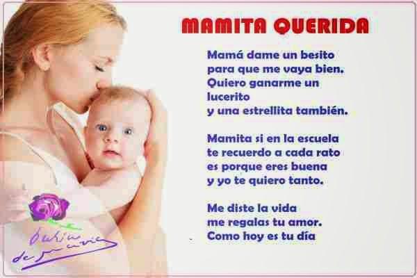 Versos bonitos para el dia de la madre