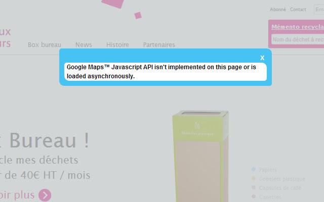 Inspector for Google Maps JavaScript API
