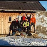 Silvestr 2015 na Breslauer Hütte