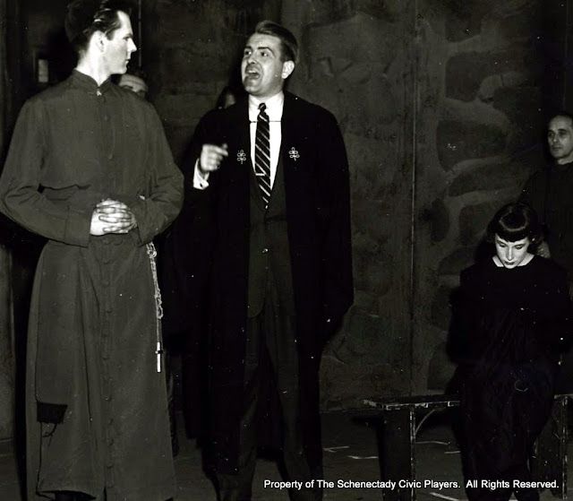 JOAN OF LORRAINE - March 1955.  Property of The Schenectady Civic Players Theater Archive.