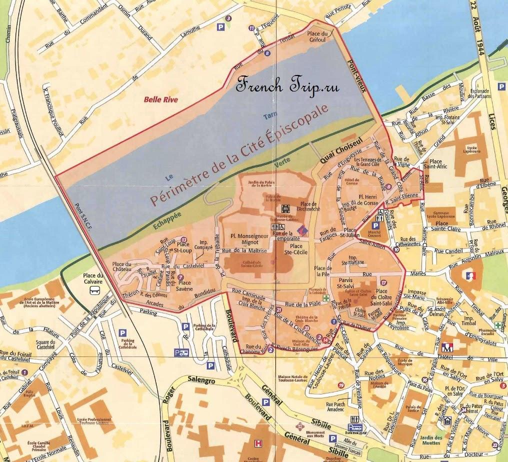 Епископский город Альби