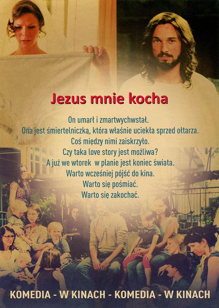 Ulotka filmu 'Jezus Mnie Kocha (tył)'