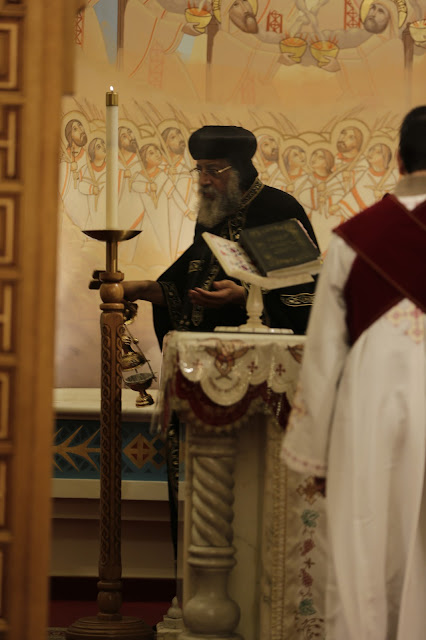 His Holiness Pope Tawadros II visit to St. Mark LA - _09A9149.JPG