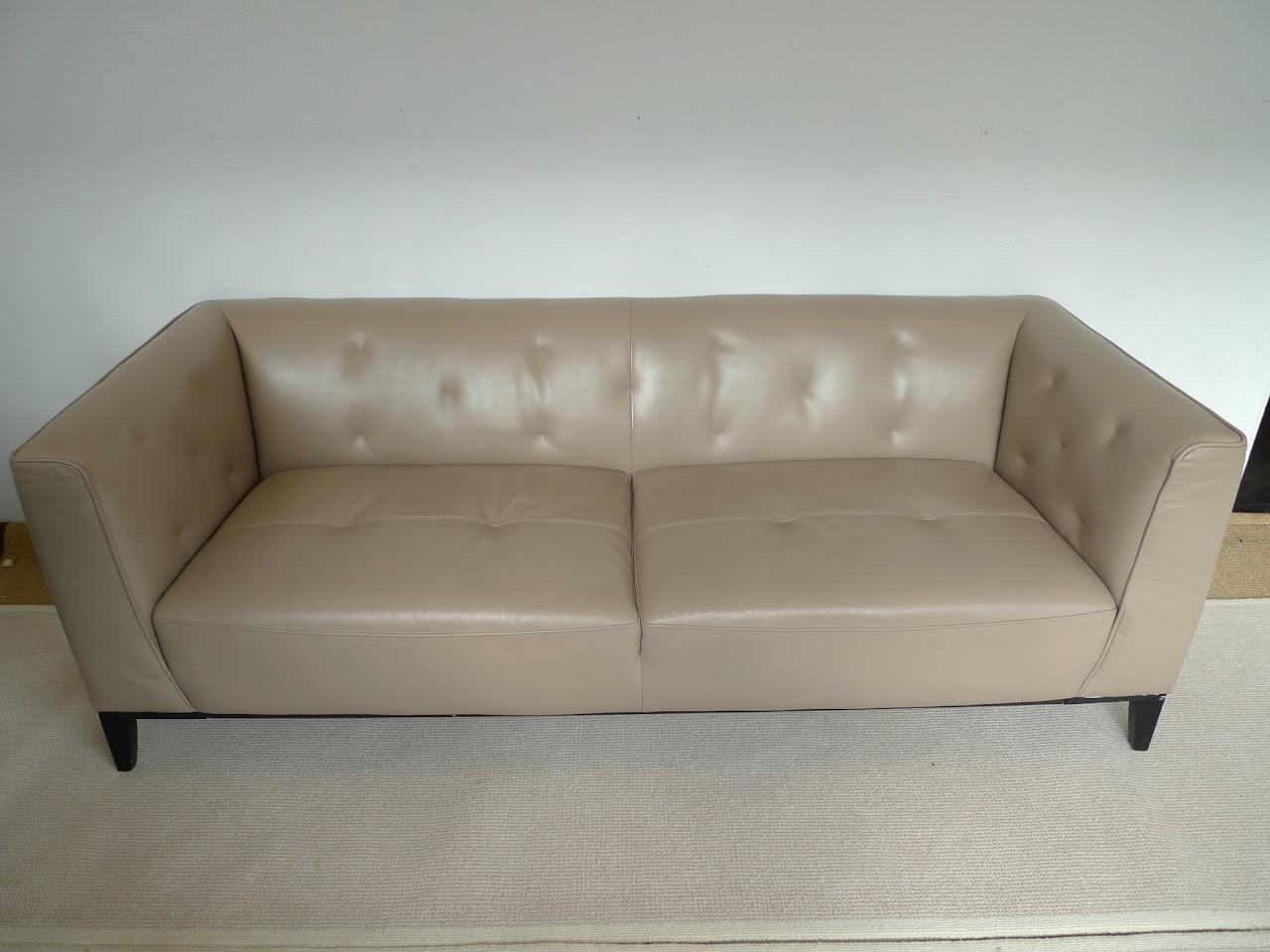 Tufted Tuxedo Sofa