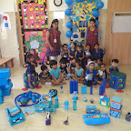 Blue Colour Day(Witty World, Nursery) 17.07.17