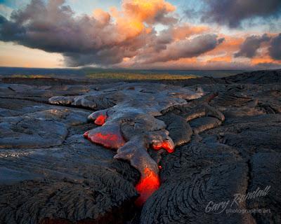 Kalapana lava