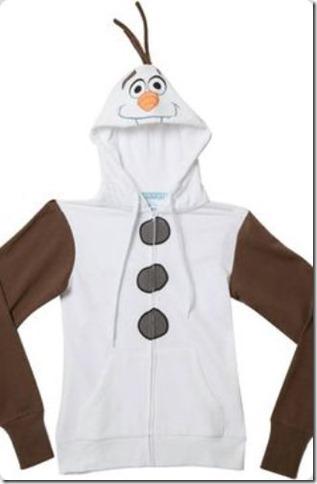 disfraz casero de Olaf de frozen (2)