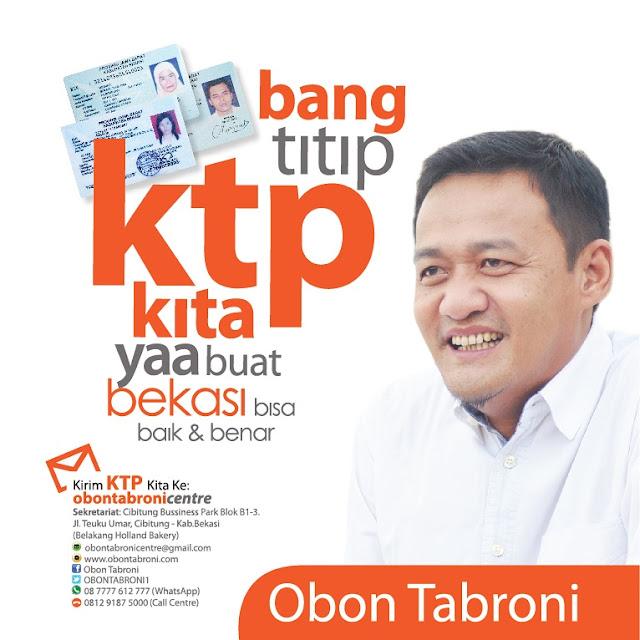 Image result for Bupati Bekasi 2017 obon