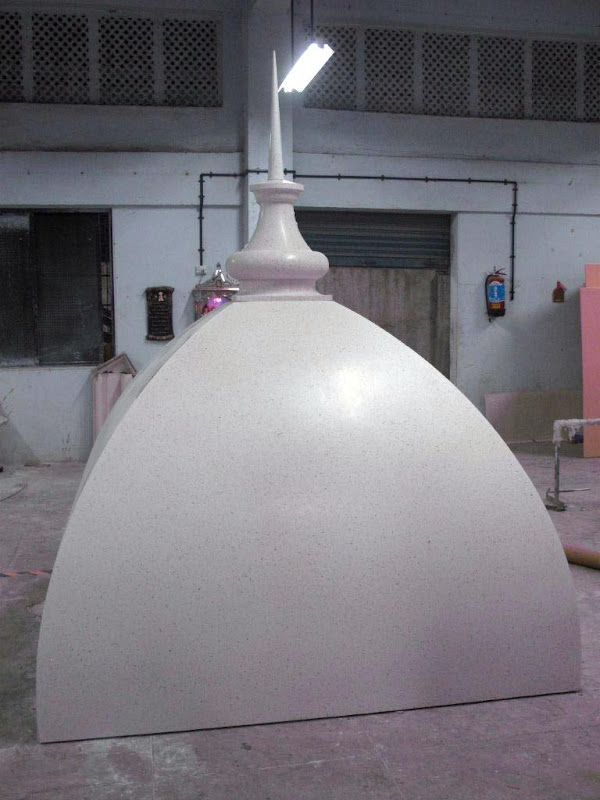 Dome at factory