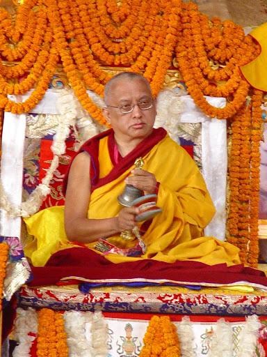 Long life puja offered Kopan Monastery December, 2003.
