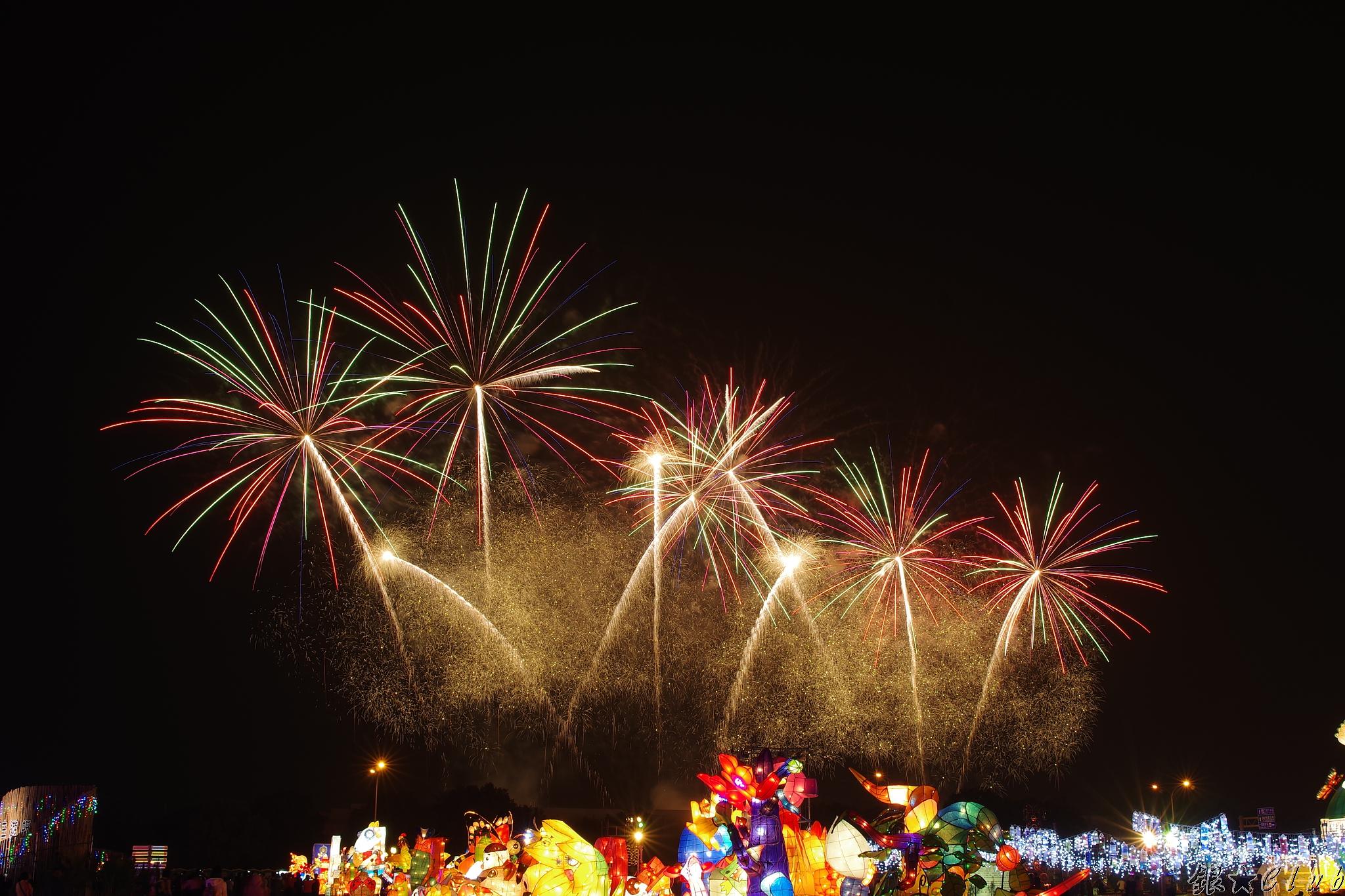 2015 台中燈會煙火