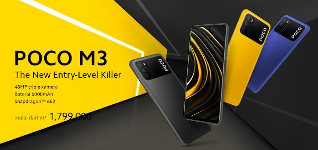 entry level killer poco m3