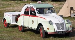 Citroën 1957 2 CV AZL Taxi