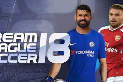 Dream League Soccer 2018 v5.04 + Mod Full Apk For Android