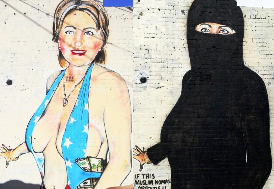 Hitlary Clinton