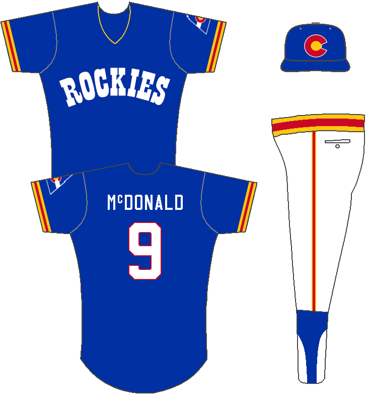 the latest ec265 f7a36 The Ultimate Baseball Look: Colorado Rockies NHL Baseball