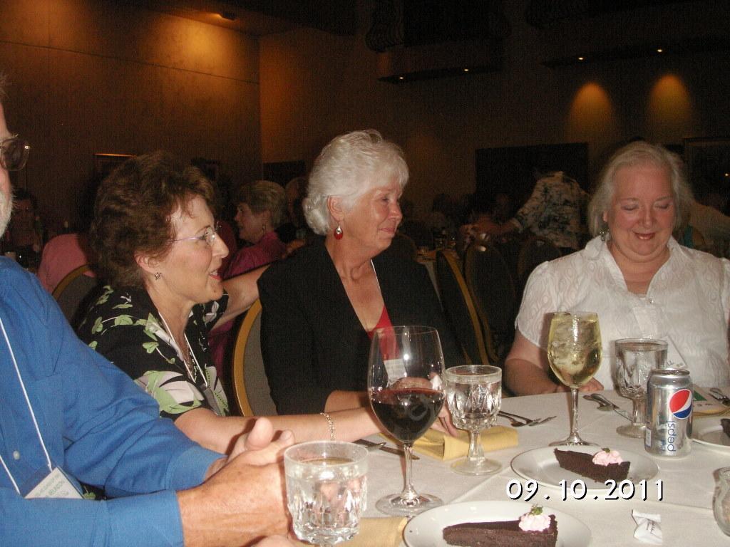 Betty Benoliel, Delma O Brien, Rose Boswell