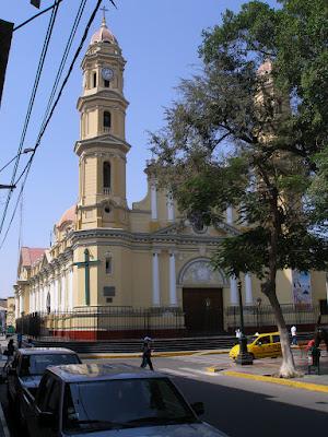 Piura, Blick auf die alte Kathedrale