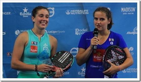 Marta Ortega y Ariana Sánchez vuelven a reinar en territorio Challenger