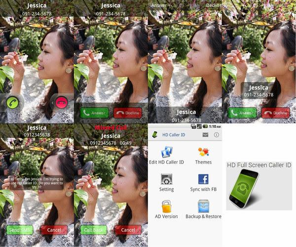 HD Full Screen Caller ID Pro v2.4.5 - Fotos de alta calidad