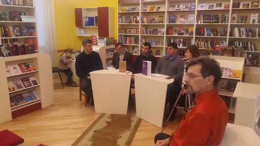 Літературно-критичне обговорення книжок Мирослава Мариновича та Осипа Зінкевича