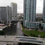 Brickel on a muggy day in Miami, Florida, United States