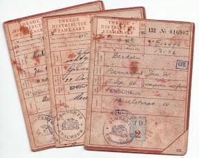 Tweede distributie stamkaarten - Gemeente Enschede