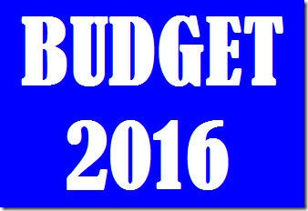 budget 2016 and sector impact