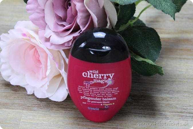 Treaclemoon Wild Cherry Magic Handcreme Handbalsam Creme New Neuheiten dm 2017 Pflege Rossmann Drogerie Review Test Erfahrungsbericht Erfahrung Blog Beauty Haul New in One Ginger Morning Marshmallow