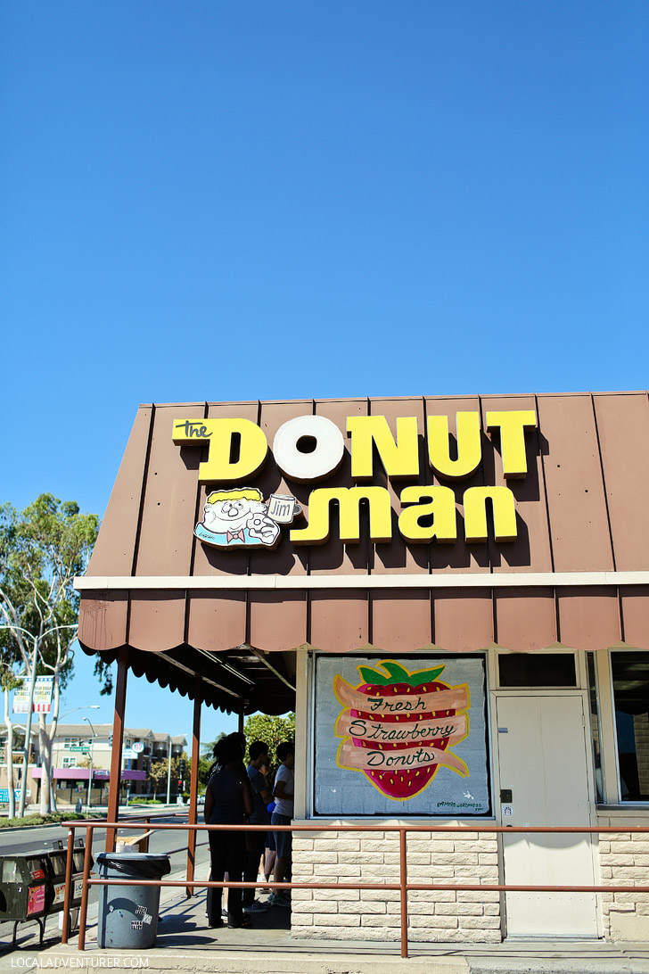 The Donut Man Glendora CA (the Best Donuts in Los Angeles).