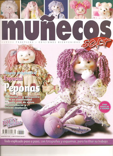 Muñecos soft esp peponas 00