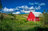 """Red Barn"" by Tim Snyder - 2nd place A special"