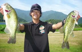第4位 川島拓郎プロ 5本 1,660g