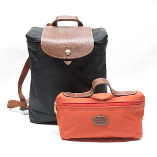 Longchamp Backpack & Pouch