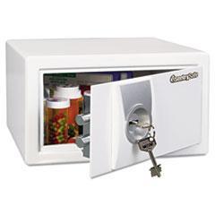 Sentry Safe MX031K: Med Series Safe, 0.31 Ft3, 11-2/5w x 10-2/5d x 6-3/5h, White