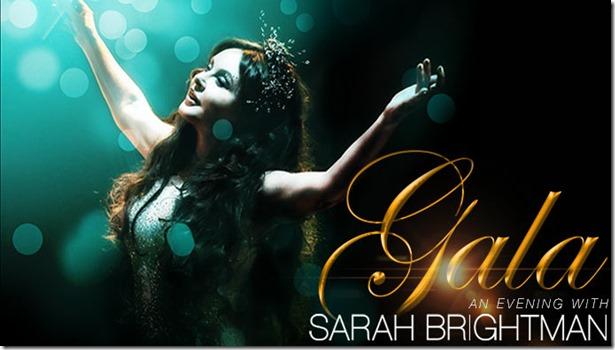 Sarah Brightman Gira 2016