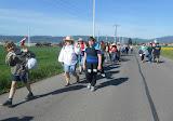 Több kilométeres, kitartó gyaloglás a Búcsú hegyére (2017. június 3.)