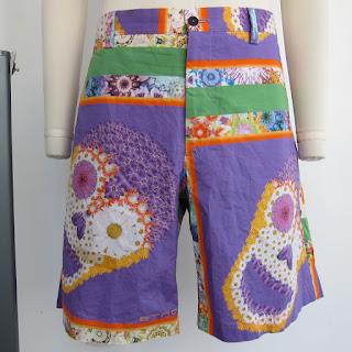 Etro Dia De Los Muertos Shorts