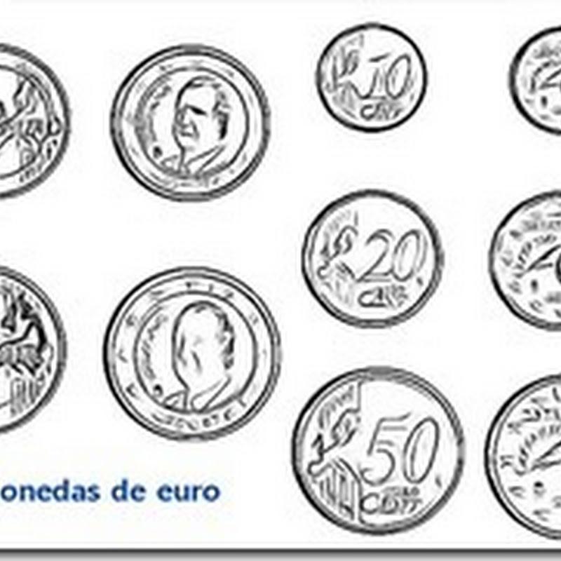 dinero, euros para imprimir