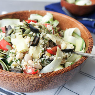 Artichoke Millet Power Salad