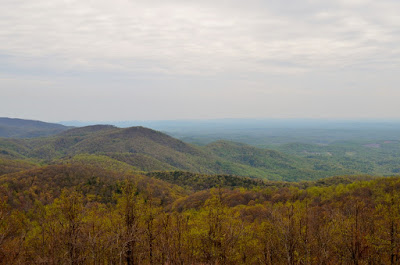View from Saddle Overlook