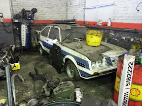 Abandoned Ford Escort Mk2 RS200